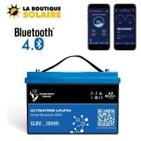 Batterie moteur et sondeur lithium Ultimatron