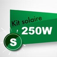 Kit solaire autoconsommation 250W