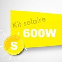Kit solaire autoconsommation 600W