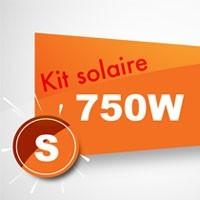 Kit solaire autoconsommation 750W