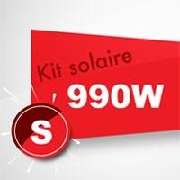 Kit solaire autoconsommation 990W