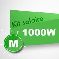 Kit solaire autoconsommation 1000W