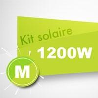 Kit solaire autoconsommation 1200W