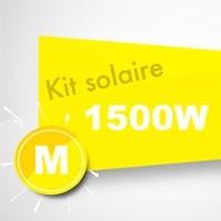 Kit solaire autoconsommation 1500W