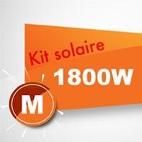 Kit solaire autoconsommation 1800W