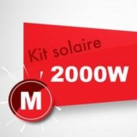 Kit solaire autoconsommation 2000W