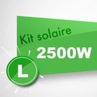 Kit solaire autoconsommation 2500W