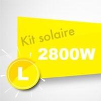 Kit solaire autoconsommation 2800W