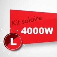 Kit solaire autoconsommation 4000W