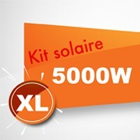 Kit solaire autoconsommation 5000W