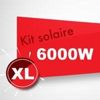 Kit solaire autoconsommation 6000W