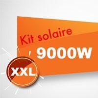 Kit solaire autoconsommation 9000W