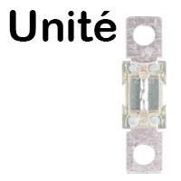 fusible à l'unité