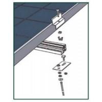 Supports et Fixations panneaux solaires