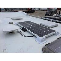Fixation panneau solaire pour camping-car